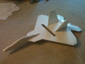 Mini F-22 Raptor