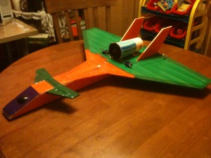 Delta Canard Jet