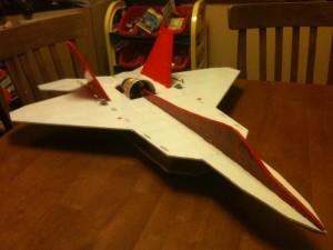 Scale F22 Raptor EDF Jet